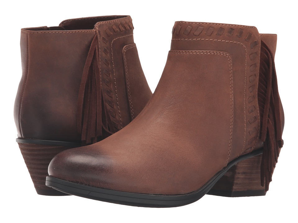 Clarks Gelata Flora (Brown Leather) Women