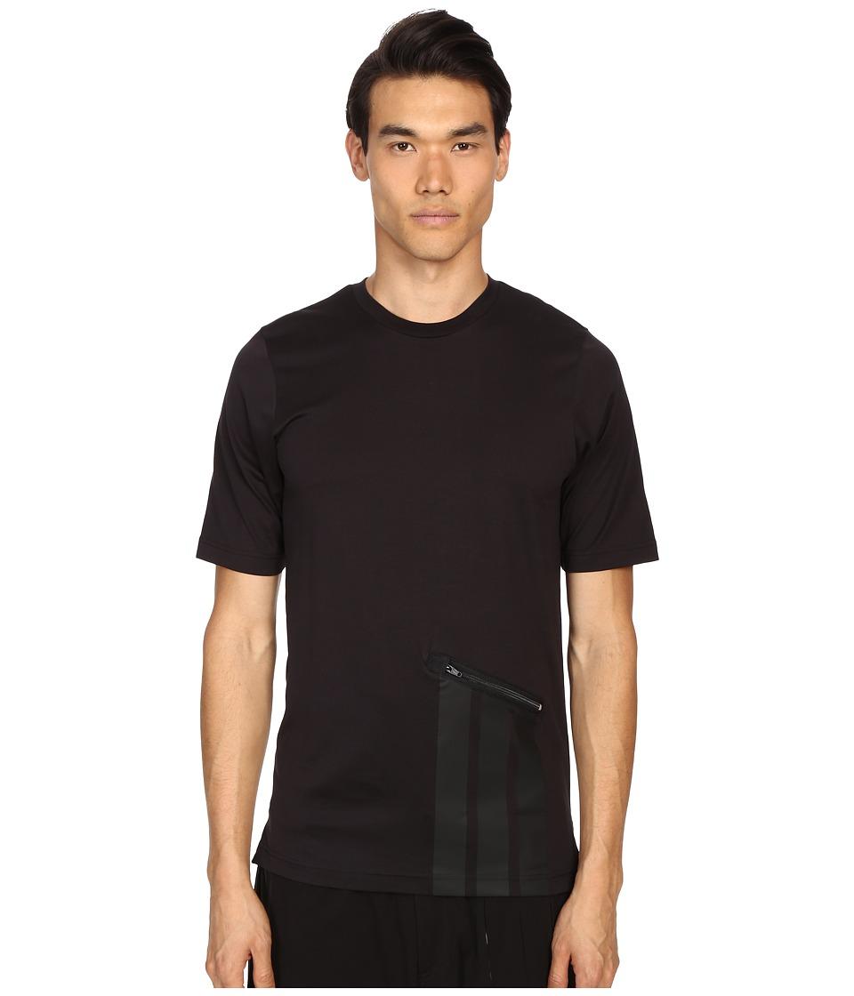 adidas Y 3 by Yohji Yamamoto Digital S Tee Black Mens T Shirt