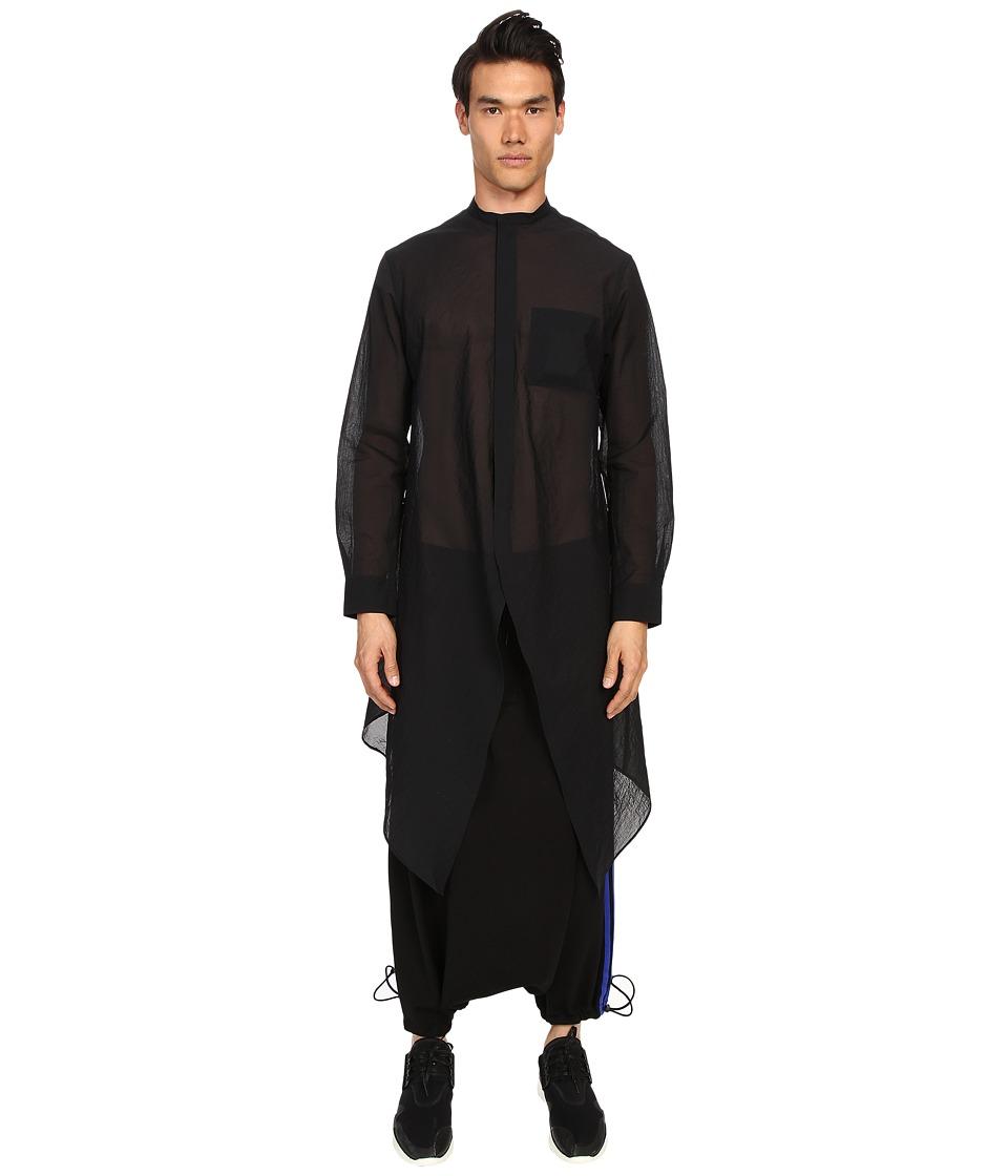 adidas Y 3 by Yohji Yamamoto Airm L Shirt Black Mens Clothing