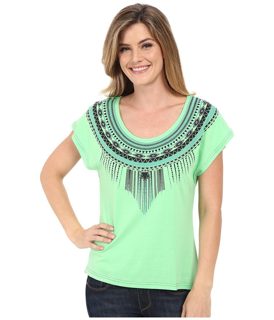 Cruel Short Sleeve Dolman Tee Green Womens T Shirt