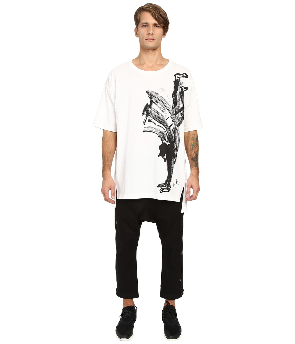 adidas Y-3 by Yohji Yamamoto - Sketch 1 Tee (Core White) T Shirt
