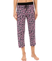 DKNY - Black Abstract Capris