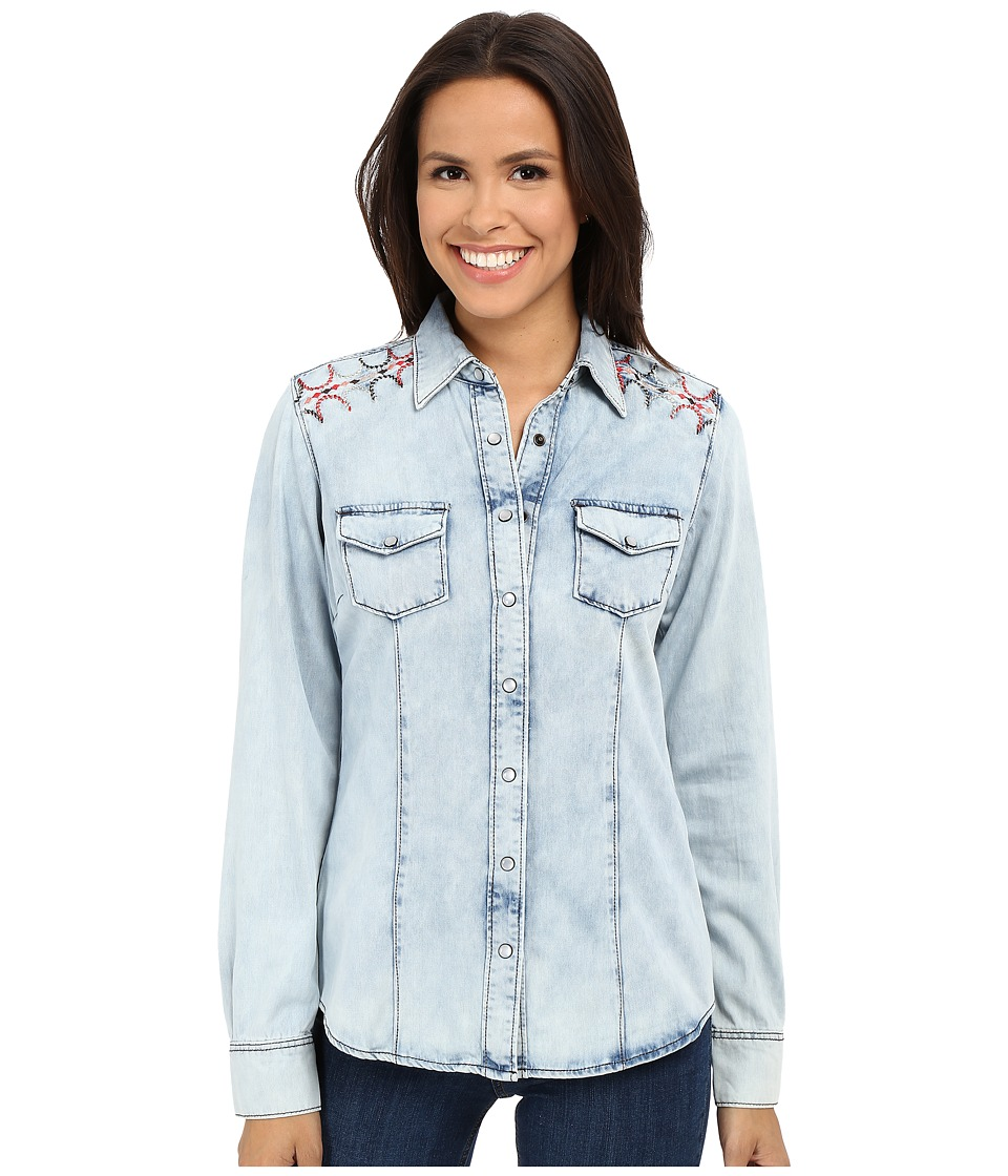Cruel Arena Fit Denim Indigo Womens Jacket