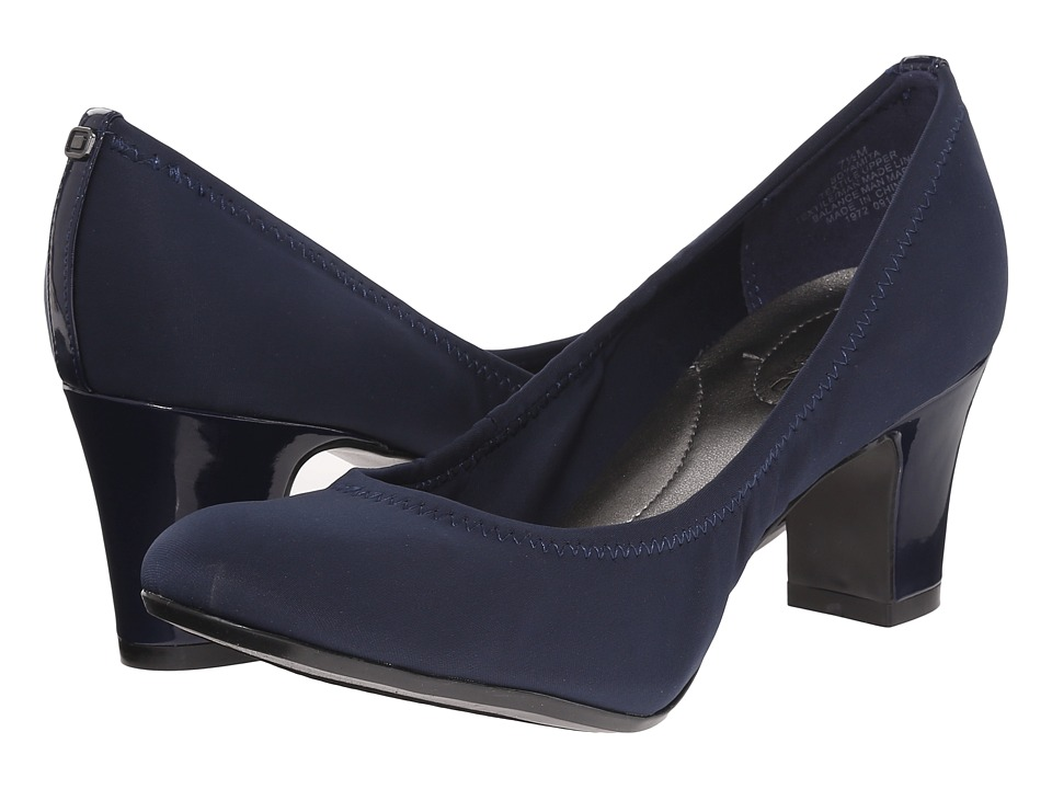 Bandolino Yamita Navy/Navy Fabric High Heels