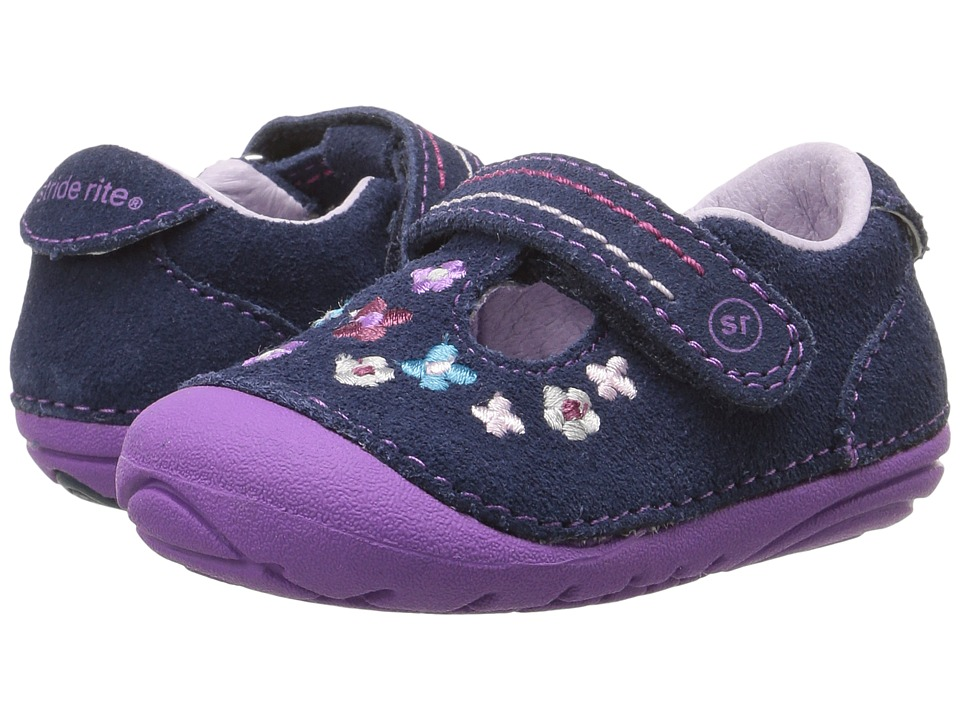 Stride Rite SM Tonia (Infant/Toddler) (Navy) Girl's Shoes