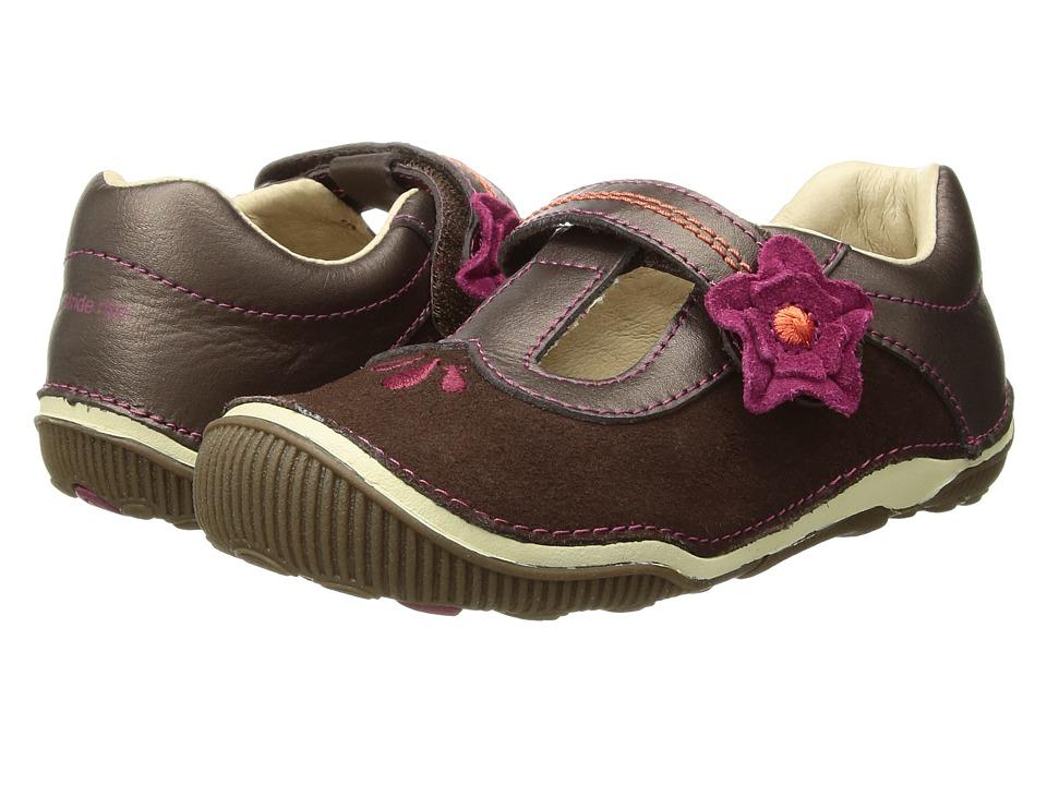 Stride Rite SRT Teagan (Toddler) (Brown) Girl's Shoes