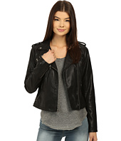 Levi's® - Classic Asymmetrical Faux Leather Motorcycle Jacket