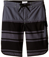 Pumpkin Patch Kids - Striped Boardshorts (Big Kids)