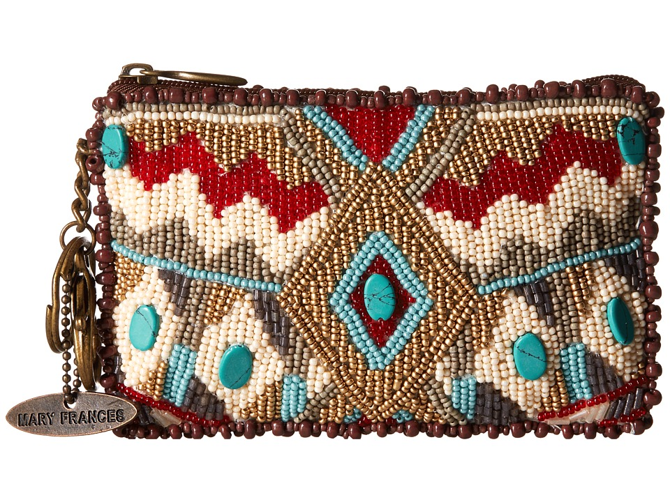 Mary Frances - Turquoise Power Coin Purse (Multi) Coin Purse