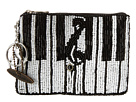 Mary Frances Keyed up Coin Purse (Black/White)