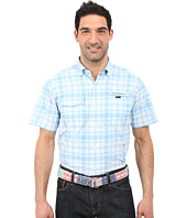 Vineyard Vines - Short Sleeve Spearfish Plaid Harbor Shirt