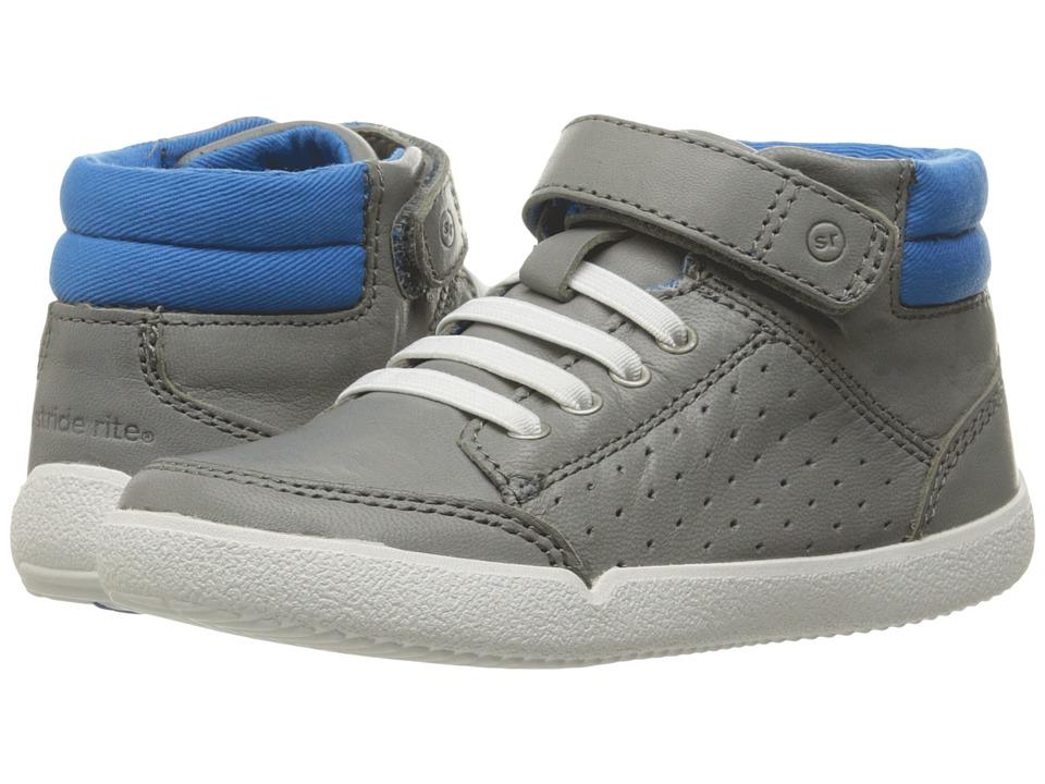Stride Rite Stone (Toddler) (Grey) Boy's Shoes