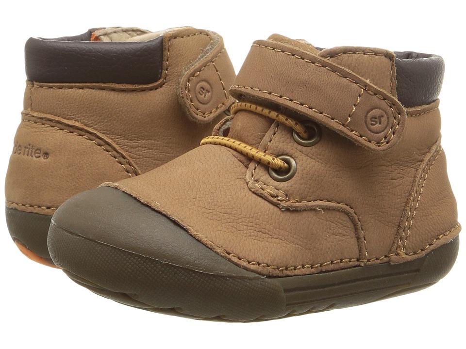 Stride Rite SM Burrell (Infant/Toddler) (Tan) Boy's Shoes