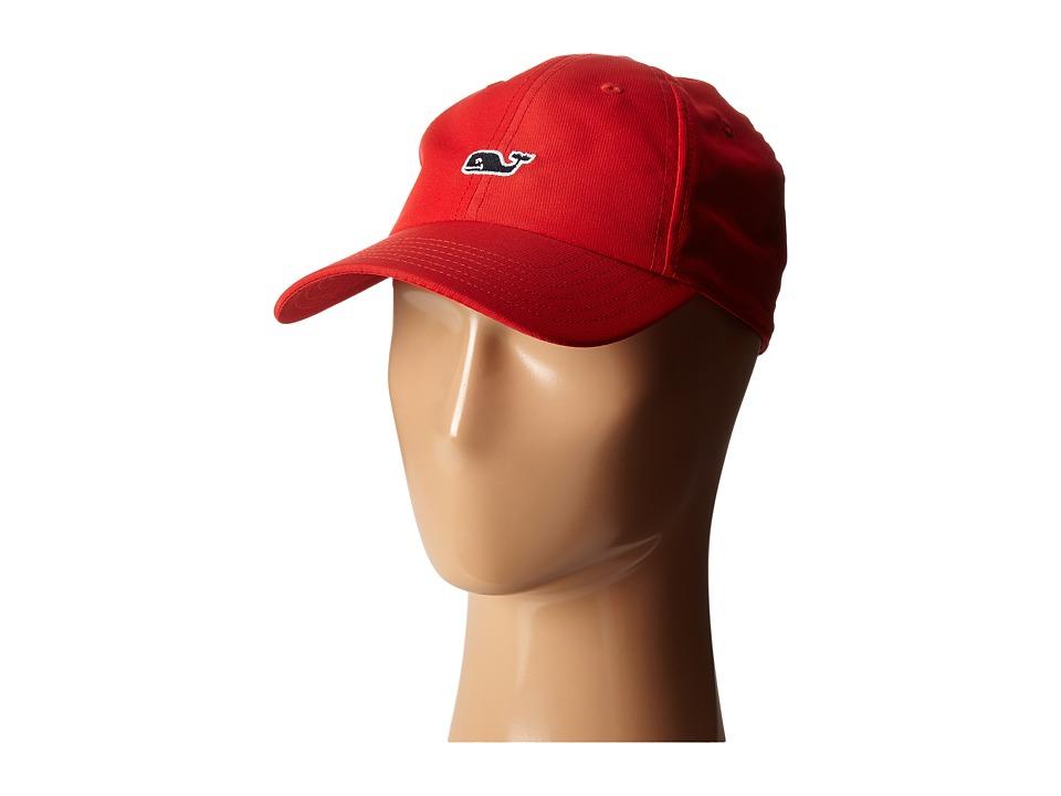 Vineyard Vines Perf Baseball Hat Lighthouse Red Baseball Caps