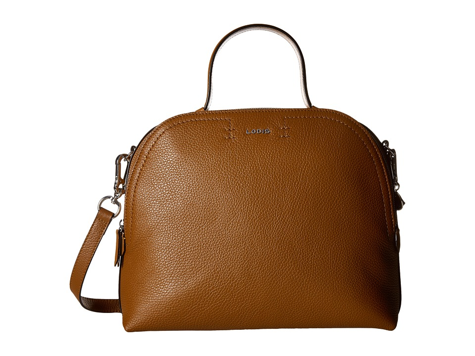 Lodis Accessories - Kate Caitlyn Medium Satchel (Toffee) Satchel Handbags
