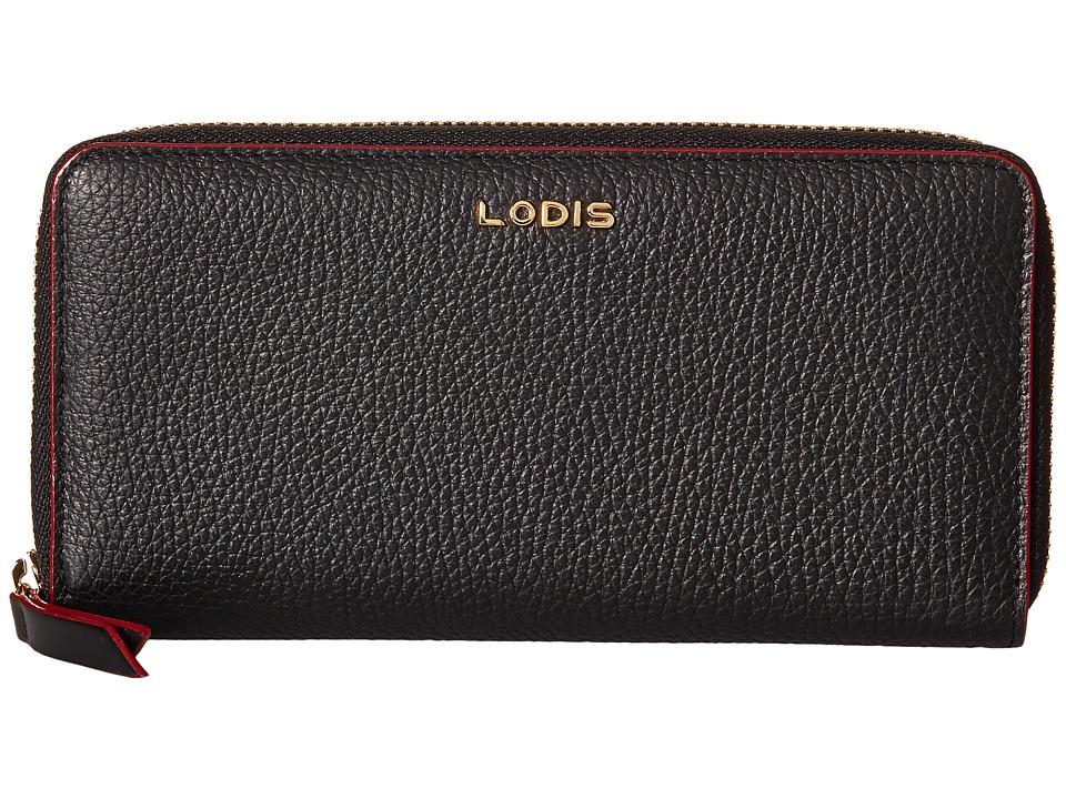 Lodis Accessories - Kate Joya Wallet (Black) Wallet Handbags