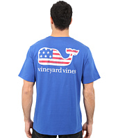 Vineyard Vines - Flag Whale Graphic Pocket Tee