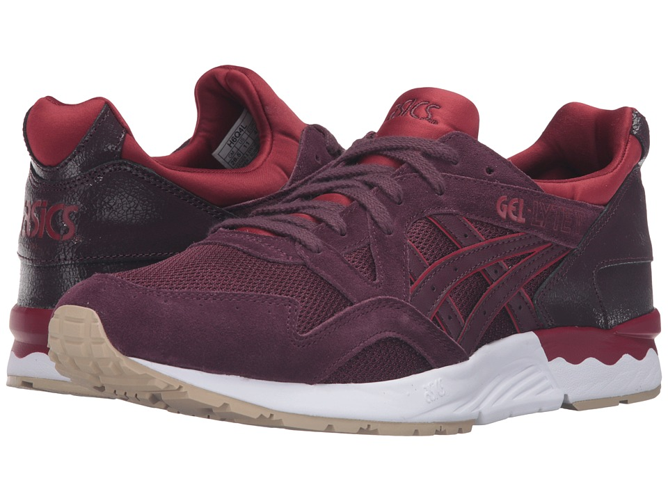 Onitsuka Tiger by Asics - Gel-Lyte V (Rioja Red/Rioja Red) Shoes
