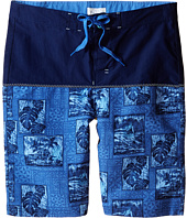 Pumpkin Patch Kids - Spliced Printed Boardshorts (Big Kids)