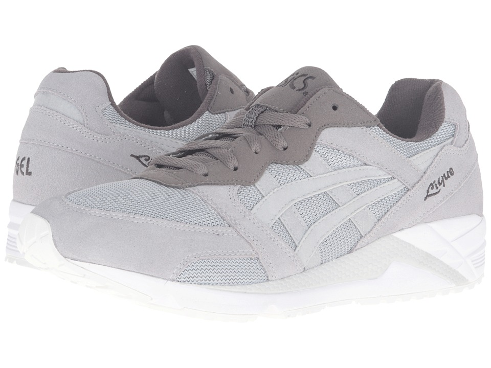 Onitsuka Tiger by Asics - Gel-Lique (Light Grey/Light Grey) Athletic Shoes