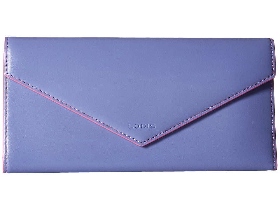 Lodis Accessories - Audrey Alix Trifold (Lilac/Rose) Wallet Handbags