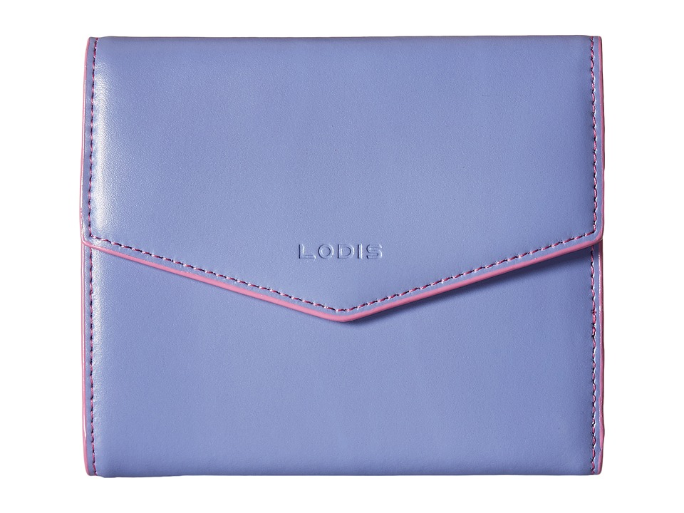 Lodis Accessories - Audrey Lana French Purse (Lilac/Rose) Wallet Handbags