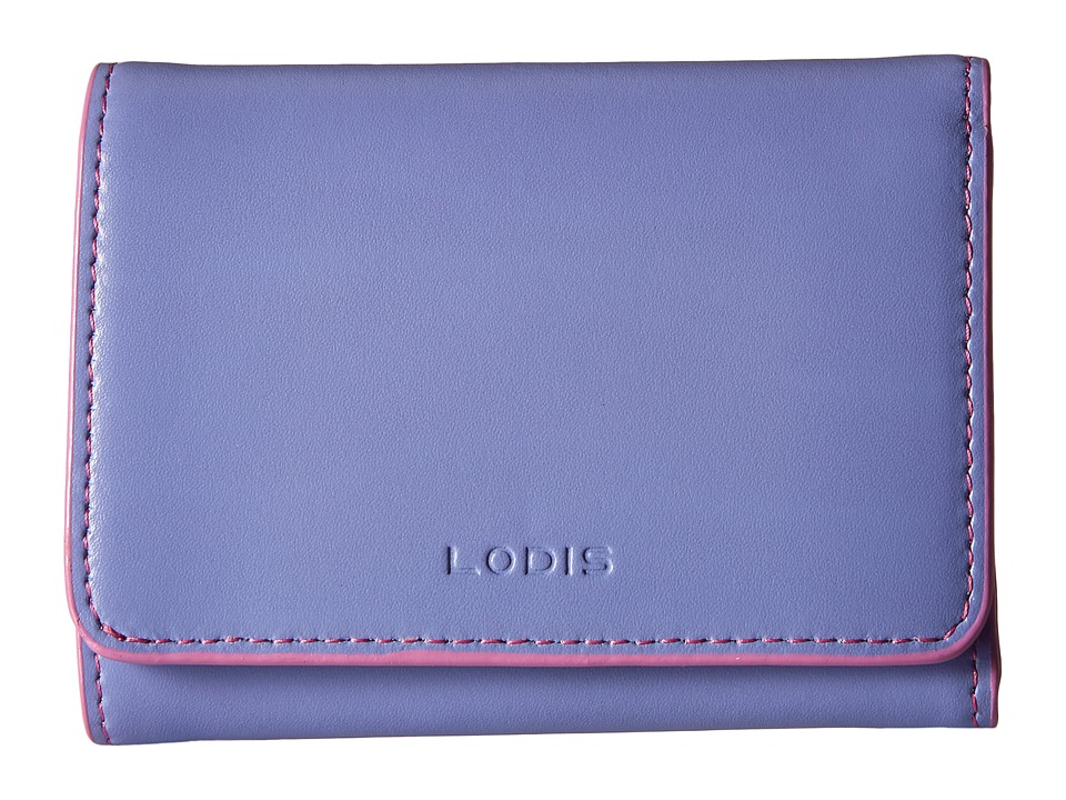 Lodis Accessories - Audrey Mallory French Purse (Lilac/Rose) Wallet Handbags