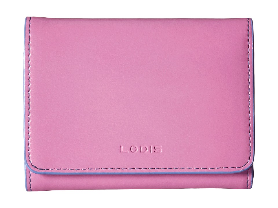 Lodis Accessories - Audrey Mallory French Purse (Rose/Lilac) Wallet Handbags