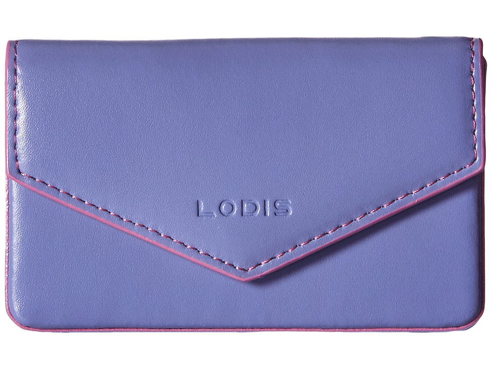 Lodis Accessories - Audrey Maya Card Case (Lilac/Rose) Credit card Wallet