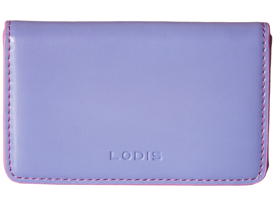 Lodis Accessories - Audrey Mini Card Case (Lilac/Rose) Credit card Wallet