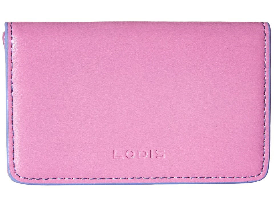 Lodis Accessories - Audrey Mini Card Case (Rose/Lilac) Credit card Wallet