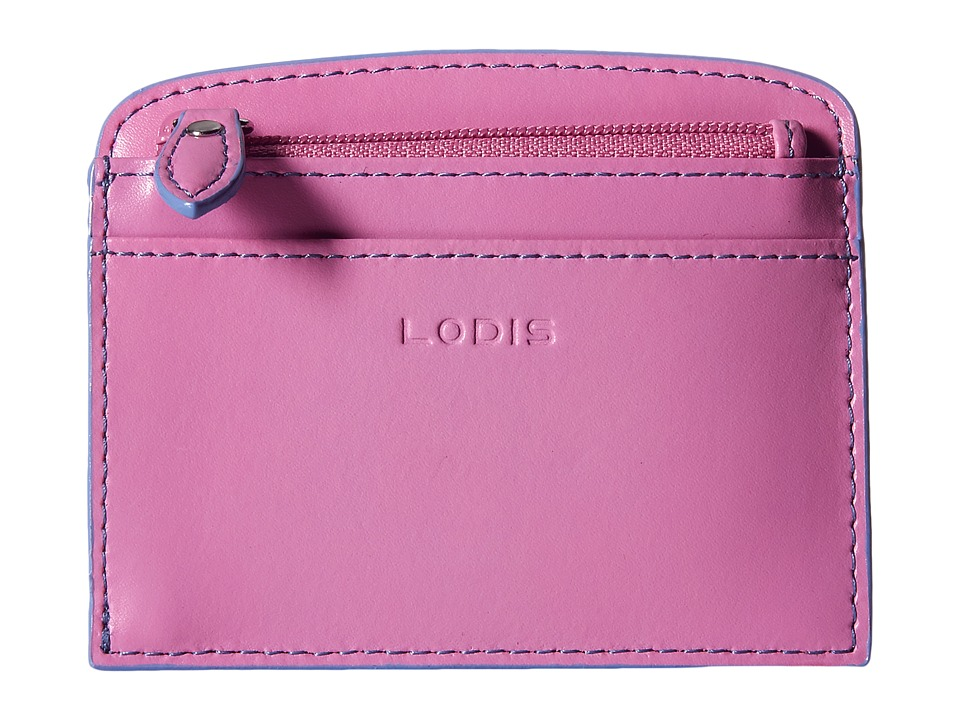 Lodis Accessories - Audrey Laci Card Case (Rose/Lilac) Wallet
