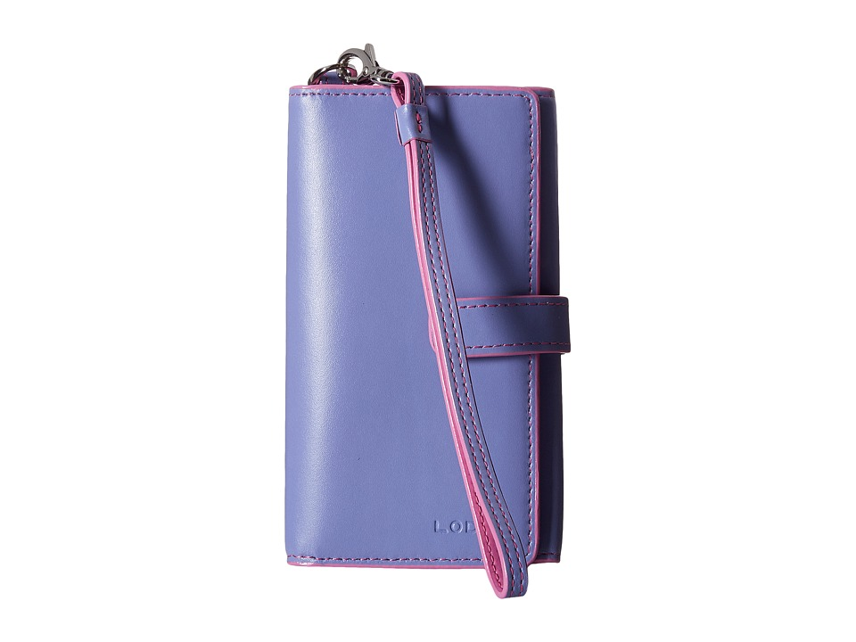 Lodis Accessories - Audrey Lily Phone Wallet (Lilac/Rose) Wallet Handbags