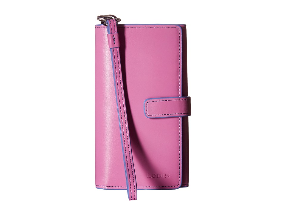 Lodis Accessories - Audrey Lily Phone Wallet (Rose/Lilac) Wallet Handbags