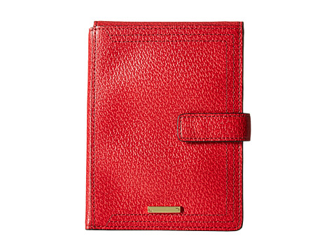 Lodis Accessories Stephanie RFID Under Lock & Key Passport Wallet w/ Ticket Flap - Red