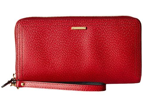 Lodis Accessories Stephanie RFID Under Lock & Key Vera Wristlet Wallet - Red