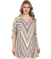 NIC+ZOE - Plus Size Chevron Tunic