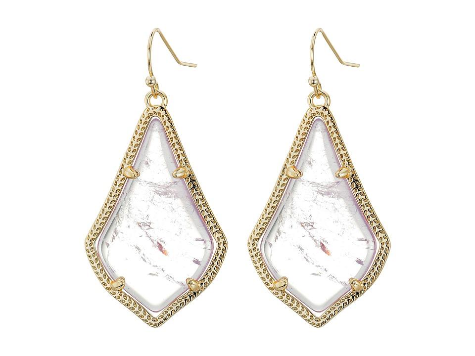 Kendra Scott Alex Earring Gold/Amethyst Earring