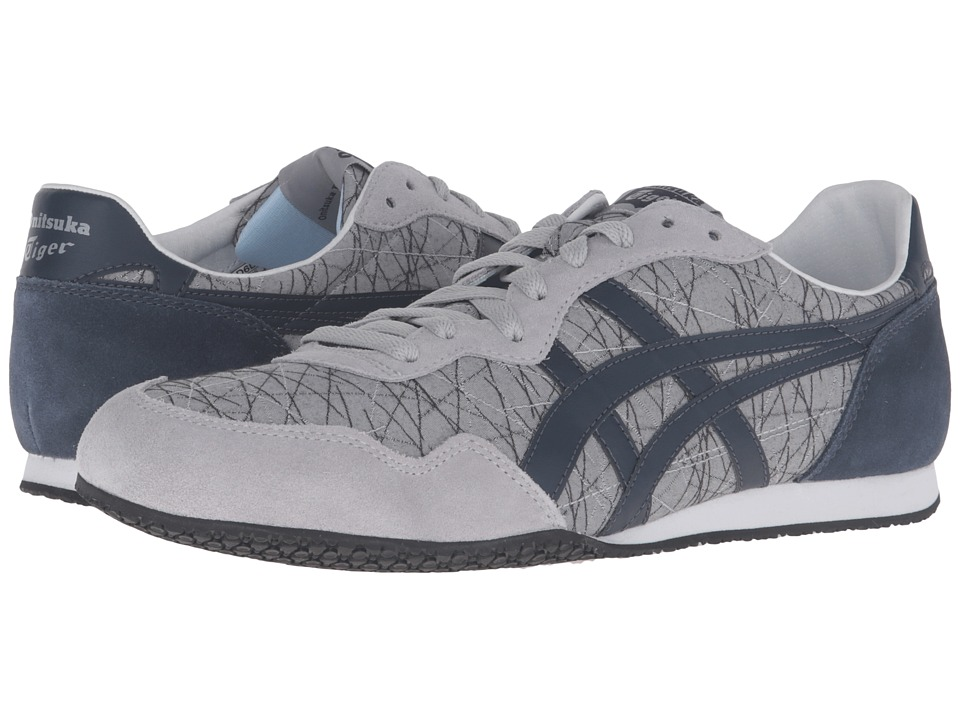 Onitsuka Tiger by Asics - Serrano (Light Grey/India Ink) Classic Shoes