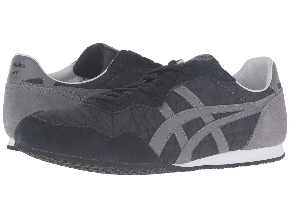 Onitsuka Tiger by Asics - Serrano (Black/Grey) Classic Shoes