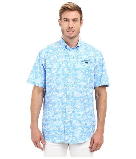 Vineyard vines dolphinfish print harbor shirt at for Vineyard vines fishing shirt