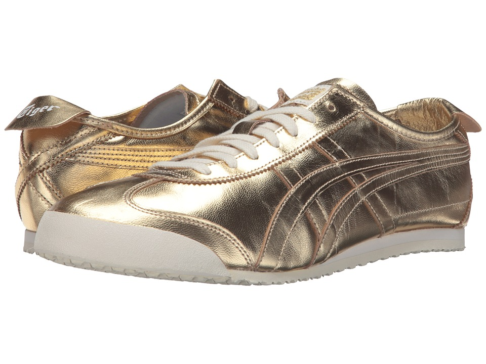 Onitsuka Tiger by Asics - Mexico 66 (Gold/Gold) Lace up casual Shoes