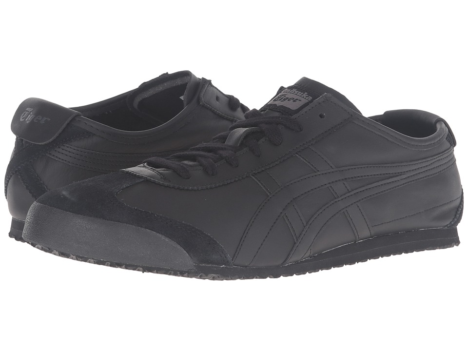 Onitsuka Tiger by Asics - Mexico 66 (Black/Black) Lace up casual Shoes