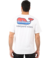 Vineyard Vines - Short Sleeve Regatta Stripe Whale Tee
