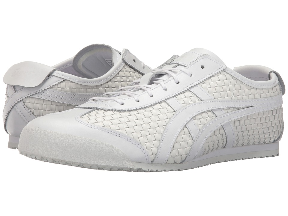 Onitsuka Tiger by Asics Mexico 66 (White/White) Lace up casual Shoes