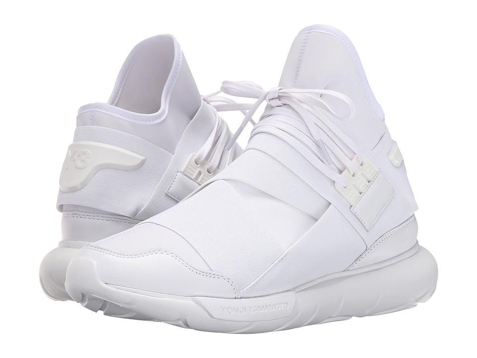 adidas Y 3 by Yohji Yamamoto Qasa High White/Vintage White S 15 ST/White Mens Shoes