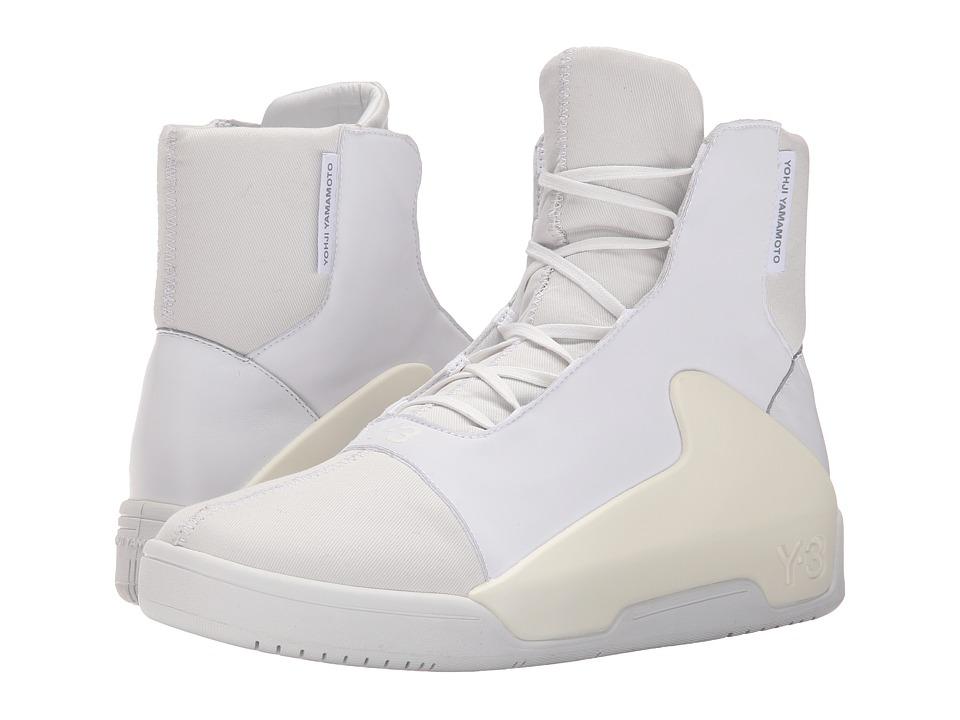 adidas Y 3 by Yohji Yamamoto Hayworth Mid White/Vintage White S 15 ST/White Mens Shoes