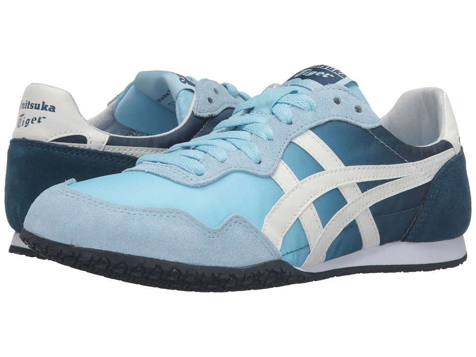 Onitsuka Tiger by Asics - Serrano (Crystal Blue/Light White) Womens Classic Shoes