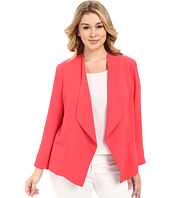 Vince Camuto Specialty Size - Plus Size Drape Front Blazer