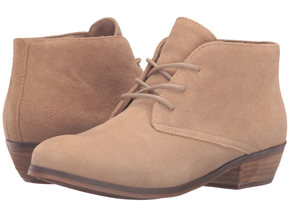 SoftWalk - Ramsey (Sand Cow Suede Leather) Women